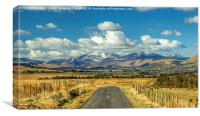Northern Fells ,The Lake District, Canvas Print