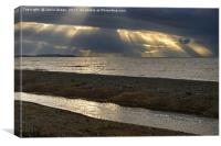 Allonby Beach, Canvas Print