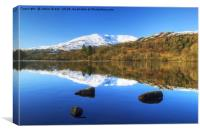 Coniston Reflections, Canvas Print