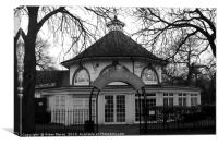 Pavilion Cafe in Greenwich Park, London  , Canvas Print
