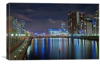 Dockland, Canvas Print