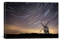 Chillenden Windmill, Canvas Print