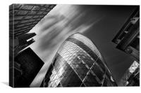 The Gherkin - London., Canvas Print