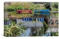 Clyde Reflections, Canvas Print