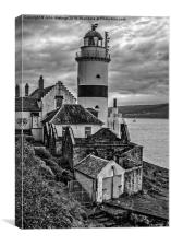 Cloch Lighthouse Inverclyde, Canvas Print