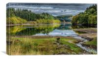 Trossachs View, Canvas Print