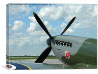Super Marine Spitfire, Canvas Print
