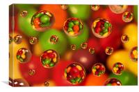 The Skittles Effect, Canvas Print