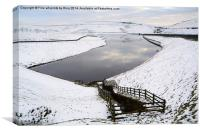Dovestone reservoir, Saddleworth Moors, Canvas Print