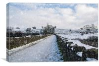 Hollingworth Country Park, Canvas Print