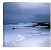 Porthluney Cove, Cornwall, Canvas Print