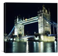 Tower Bridge in London, England, Canvas Print