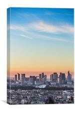 La Defense, Commercial centre, Paris, France, Canvas Print