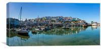 Brixham Harbour, Devon., Canvas Print