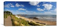Lyme Regis Panorama, Canvas Print