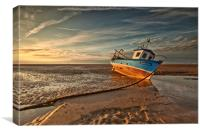 MEOLS BEACH (Grounded), Canvas Print