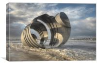 Marys Shell Cleveleys, Canvas Print