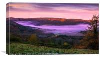Mystical Welsh Valley, Canvas Print