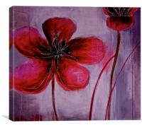 Tears of the Poppys, Canvas Print