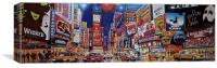 Time Square New York , Canvas Print