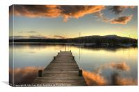On Windermere, Canvas Print