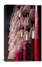 Chinese Incense Coils, Canvas Print
