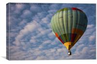 Photograph of a hot air balloon taken at the Putra, Canvas Print
