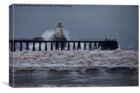 Choppy waters!, Canvas Print