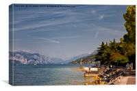 Lake Garda (3), Canvas Print