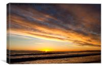 Another sunrise (2), Canvas Print