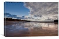 Cullercoats Bay, Canvas Print