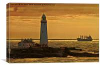Artistic St. Mary's, Canvas Print