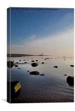 A quiet start to the day., Canvas Print