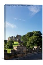 The Lion Bridge near Alnwick Castle (2), Canvas Print