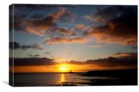 New Year's Day Sunrise, Canvas Print