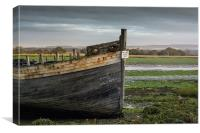 High and dry, Canvas Print