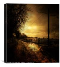 Country Ways, Canvas Print