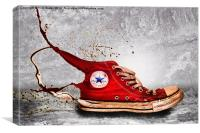 Splatter!, Canvas Print