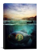 Something Fishy, Canvas Print