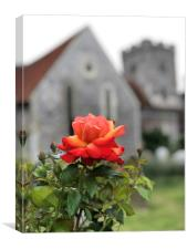 St Mary's, Teynham, Canvas Print