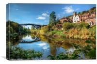 Iron Bridge 1779, Canvas Print
