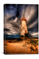 The Abandoned Lighthouse, Canvas Print