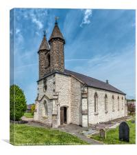 St Michael Church, Canvas Print