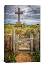 Gate to Llanddwyn Island, Canvas Print