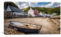 Ty Coch Inn, Canvas Print