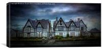 Tudor Gothic Decay, Canvas Print