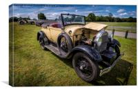 1928 Ford Model A , Canvas Print