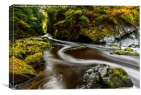 Fairy Glen Autumn, Canvas Print