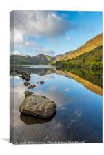 Crafnant Lake Snowdonia, Canvas Print