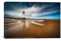 Talacre Lighthouse, Canvas Print